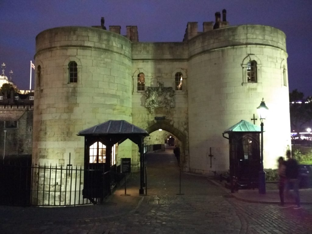 Tower of London. Unfortunately, we were too late to visit. It was closed at 6 PM.