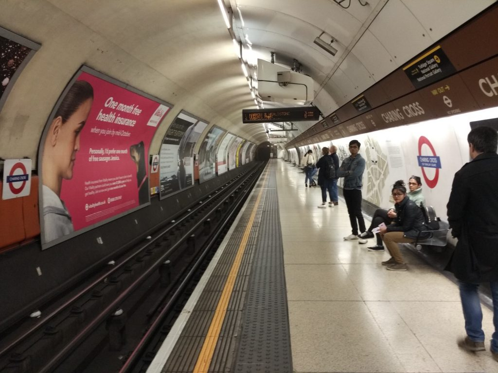 You can ride Tube Underground!