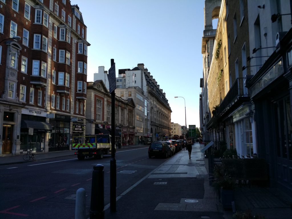 Baker Street in the morning! What an awesome quiet lovely place!